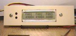 Měřič otáček ventilátoru s LCD k PC