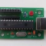 USB injektor s PIC pro bastlení, časovač, efektová základna