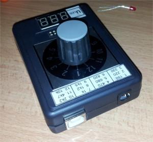 Tester LED diod - konektory