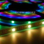 Vánoční RGB LED světla s WS281x řízená Raspberry Pi
