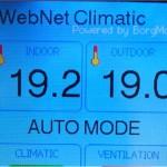 WebNet Climatic - Regulátor prostředí s ethernetem z Arduina