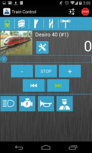 DigiTrains na smartphone