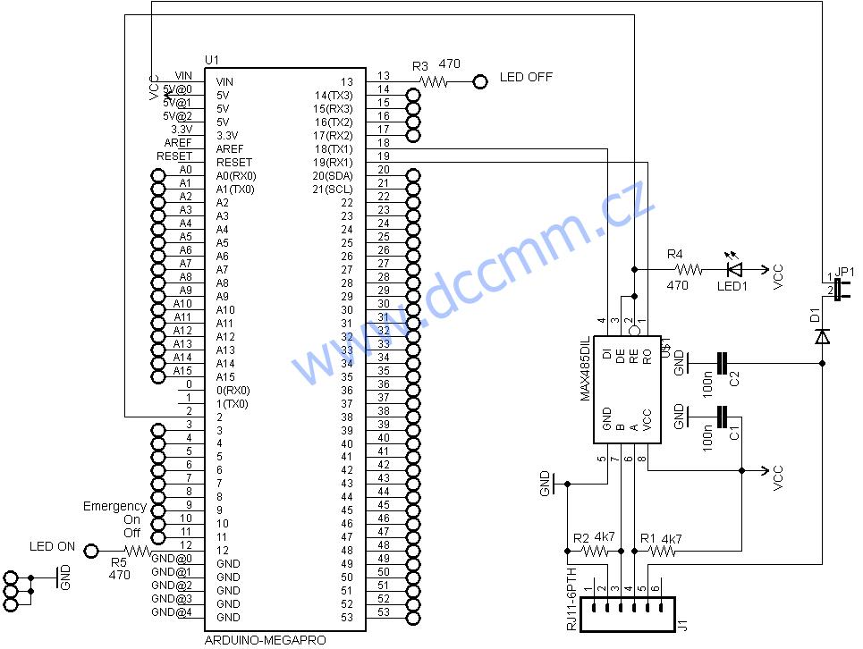 arduino tco  u2013 ovl u00e1dac u00ed pult s arduinem na xpressnet