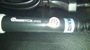 Mustool MT223 regulátor