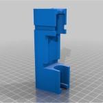 3D Tisk - držák konektoru baterie EVBIKE